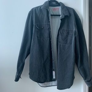 oversized vintage levi's denim jacket